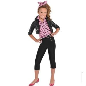 Girls Greaser Deluxe Costume Girls XL